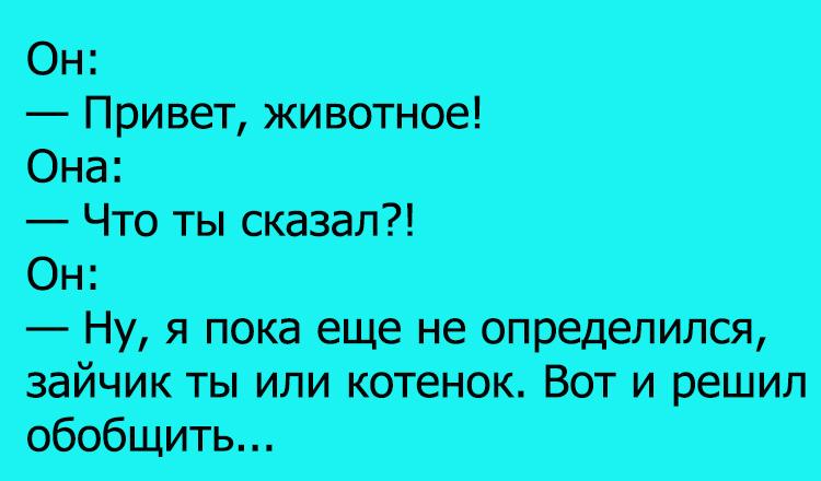 Анекдоты Про Зверей