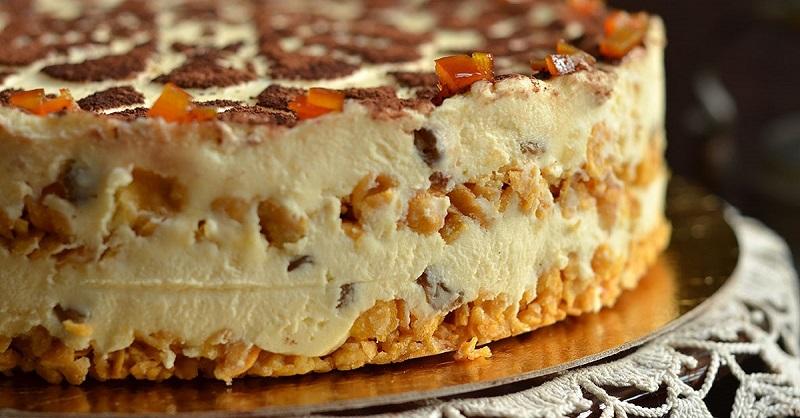 Вкуснейший творожный торт без муки – можно кушать даже тем, кто сидит на диете