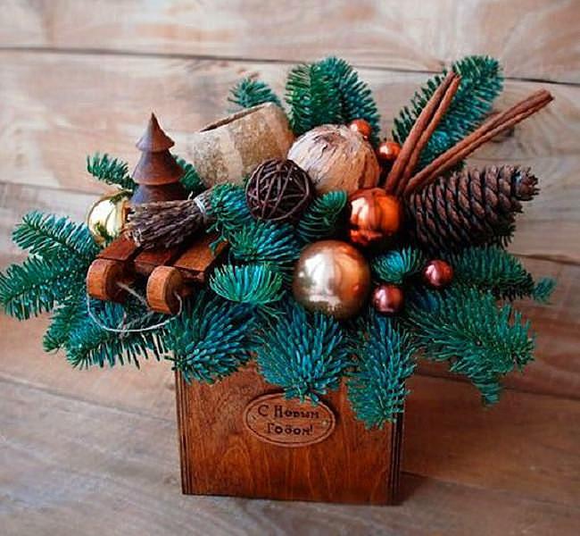 Волшебные идеи декора к новогодним праздникам – так просто и гениально, беру себе на заметку